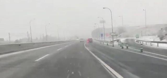 VÍDEO | Así están los accesos a Toledo
