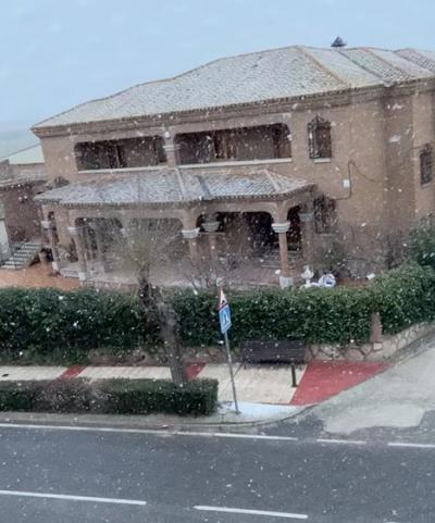 VIDEO | Parte de la provincia de Toledo amanece cubierta de nieve