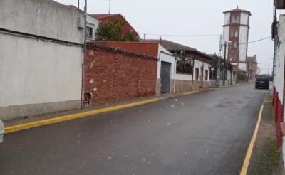 NIEVE   Este 7 de enero, así amanece en Cazalegas