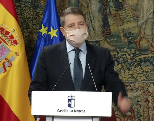 URGENTE | Page anuncia el confinamiento perimetral de todos los municipios de CLM