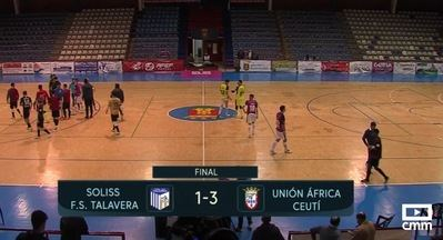 FUTSAL | El Soliss FS Talavera cae por 1-3 frente al África Ceutí en el 'Primero de Mayo'