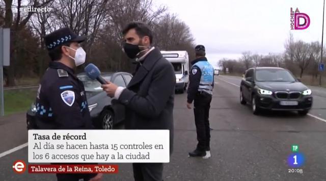 VÍDEO | Así muestra 'España Directo' la situación de Talavera por el Covid-19