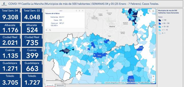 COVID-19 | Talavera baja el número de contagios a la mitad en una semana