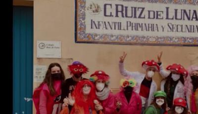 VÍDEO | Ritmo y color en el Carnaval del Colegio Ruiz de Luna