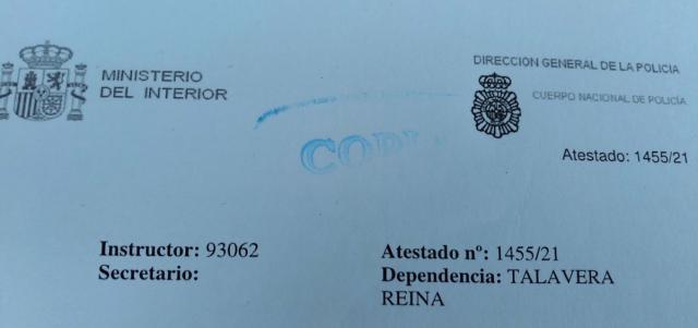 FÚTBOL | El CF Talavera interpone una denuncia por 'suplantación de identidad'