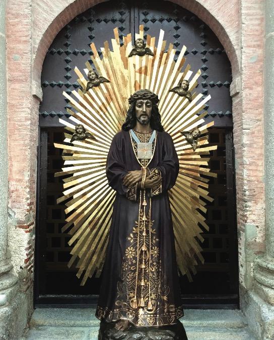 TALAVERA | El Cristo de Medinaceli sale a la calle por primera vez para su veneración