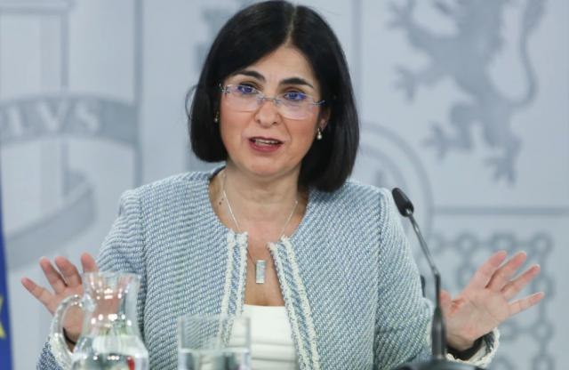 Carolina Darias, ministra de Sanidad. Foto: EP