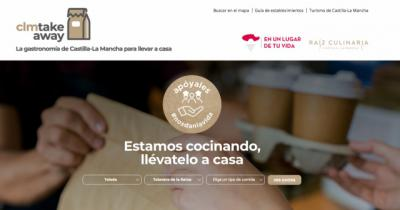 HOSTELERÍA   ¿Conoces la web de Castilla-La Mancha con la oferta de comida a domicilio de la región?