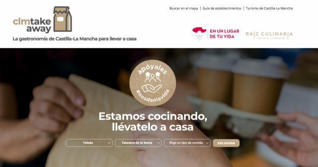 HOSTELERÍA | ¿Conoces la web de Castilla-La Mancha con la oferta de comida a domicilio de la región?