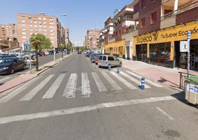 TALAVERA | Trasladada al hospital tras ser atropellada en un paso de peatones