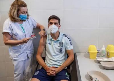 La selección española de fútbol ya está vacunada contra el coronavirus