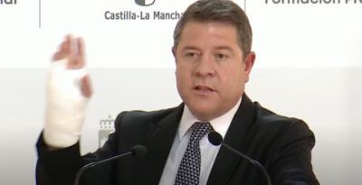 Emiliano García-Page será operado de la mano en unos días