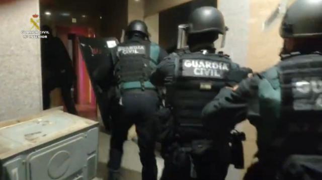 Imagen de las detenciones en Ávila - Guadia Civil