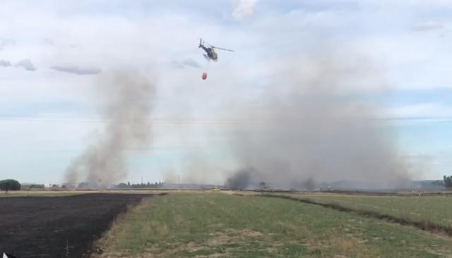 Cuatro incendios en la provincia de Toledo, uno de ellos en Gamonal