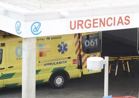 Ambulancia en Valdecilla - Juan Manuel Serrano Arce - Europa Press - Archivo