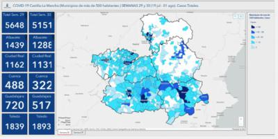 La incidencia se dispara en Talavera y en pueblos cercanos