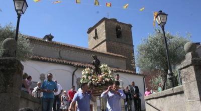 'Festividad de San Roque, en Navalcán', por José María Gómez
