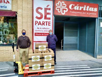 TALAVERA | Fatro Ibérica dona 1.000 sobres de embutido a Cáritas