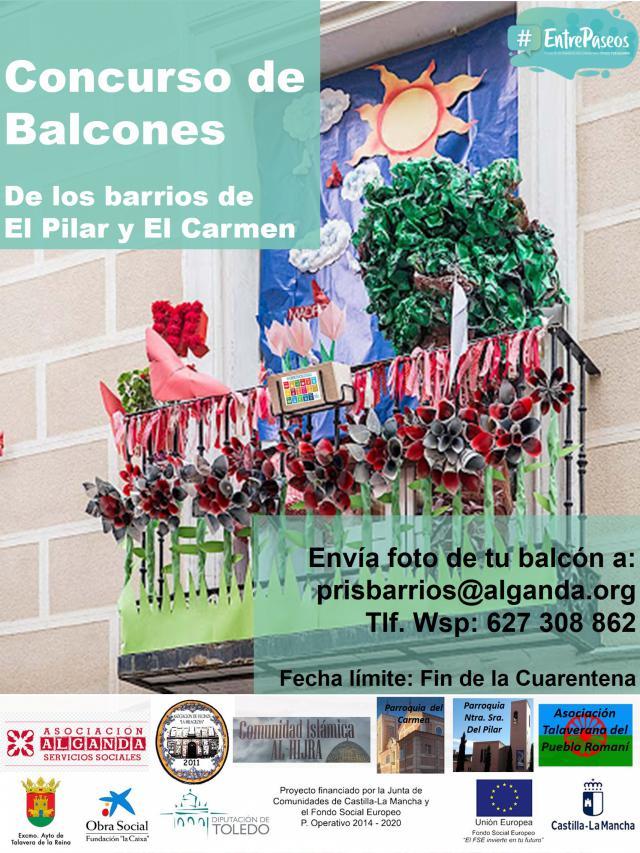 TALAVERA   'Concurso de balcones' en los barrios de El Pilar y El Carmen