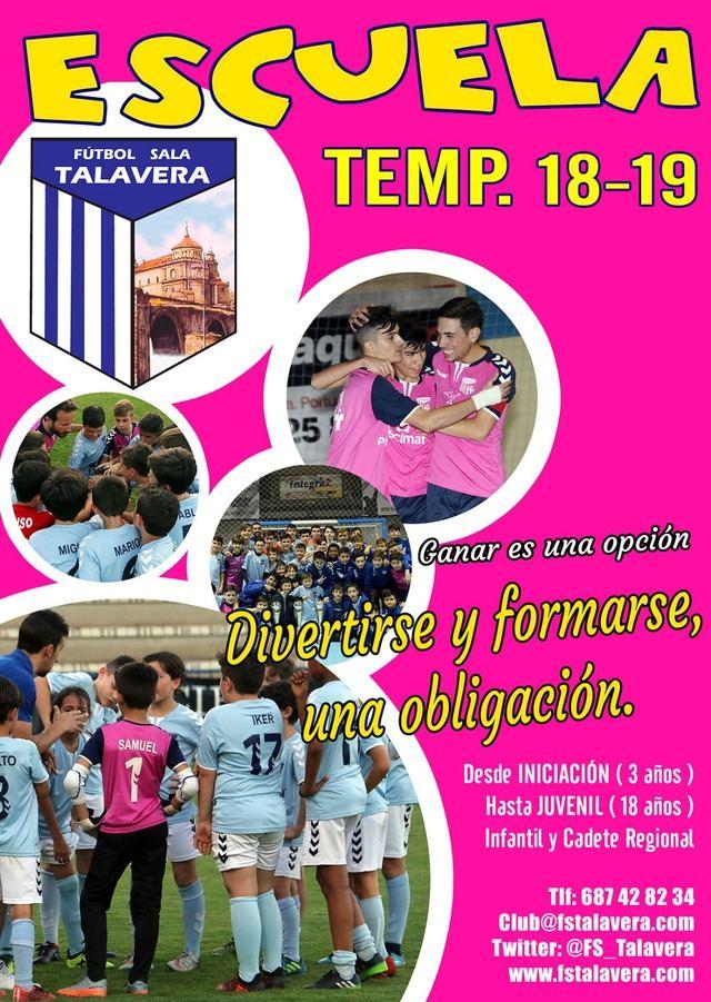 """""""Ganar es una opción, divertirse y formarse una obligación"""", lema de La Academia del Soliss FS Talavera"""