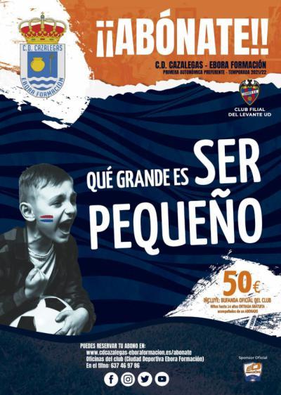 EL CD Cazalegas-Ebora Formación lanza su campaña de abonos