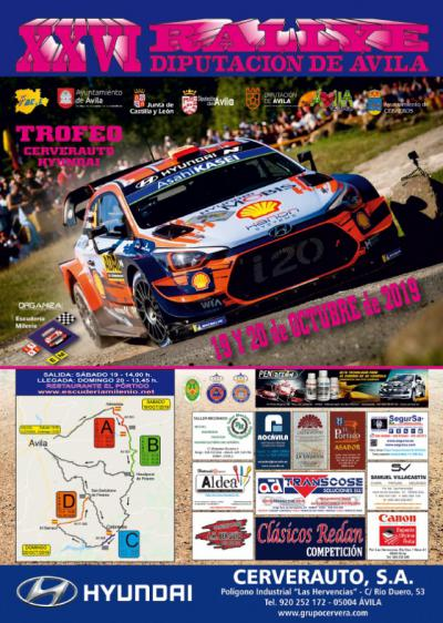 Talaveranos de Lemans, en el XXVI Rallye Diputación de Ávila que finaliza hoy