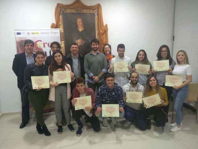 Cazalegas, nuevo municipio donde se clausura un curso PICE para jóvenes de la comarca de Talavera de la Reina