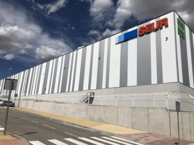 ILLESCAS   El rey inaugura el lunes el nuevo centro logístico de Seur