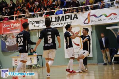 El Soliss FS Talavera consigue su primera victoria a domicilio del curso en Ceuta