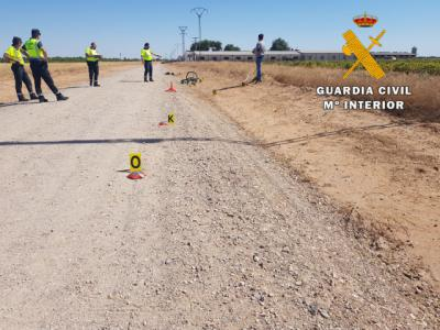TOLEDO | La Guardia Civil ha localizado al conductor que atropelló a un ciclista de 75 años