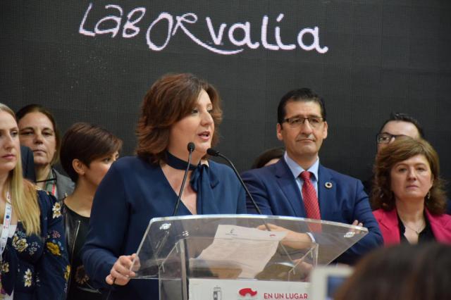 Patricia Franco en FITUR.