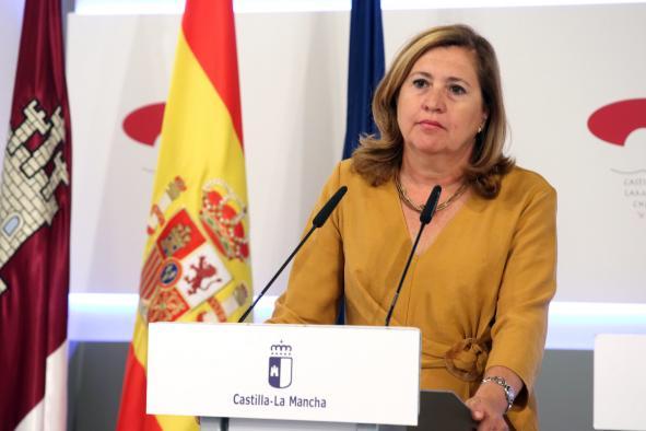 Consejera de Educación, Cultura y Deportes Rosa Ana Rodríguez Pérez.