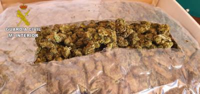 230 kilos de cogollos de marihuana intervenidos en un pueblo de Toledo