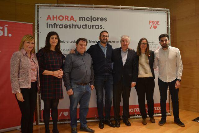 El PSOE de CLM se compromete a mejorar las conexiones con Madrid