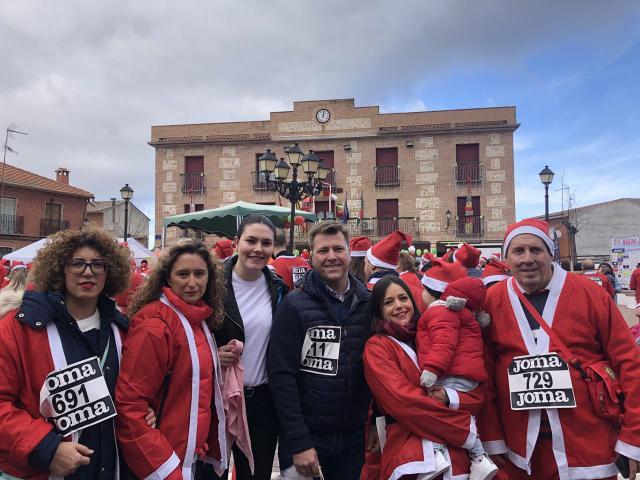 Portillo de Toledo celebra la II Marcha Solidaria '¡Va por ti Esther! de Portillo'