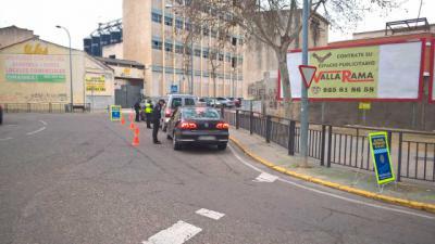 Nueva campaña de control del uso del teléfono móvil al volante en Talavera