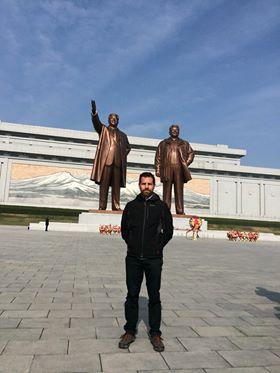 Un talaverano en la maratón del 'hermético' Corea del Norte