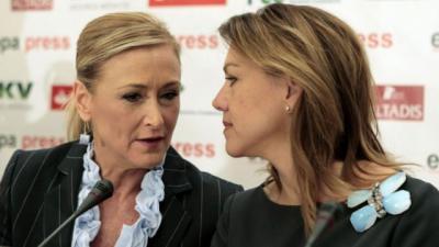 Cristina Cifuentes y María Dolores de Cospedal en una imagen de archivo