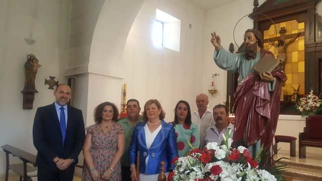 Cristina Cebas asiste a las fiestas de San Bartolomé