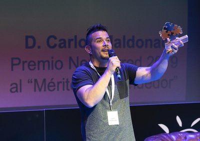 El chef talaverano Carlos Maldonado, Premio Newcorred 2019 al 'Mérito Emprendedor'