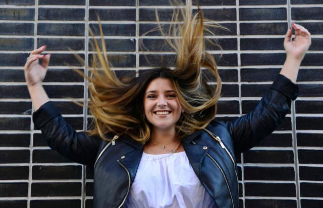 'Justo a tiempo': La talaverana María Aguado estrena videoclip
