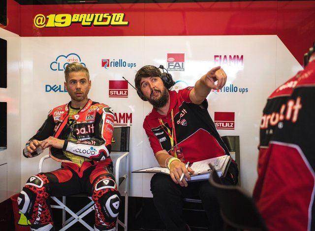 Alvaro Bautista, preparado para defender el liderato en el Mundial de Superbikes