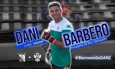 El CF Talavera ficha al portero Dani Barbero