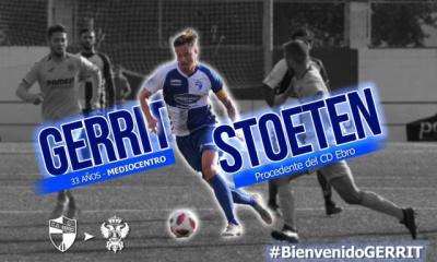 Gerrit Stoeten, nuevo fichaje del CF Talavera
