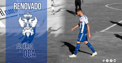 Oca renueva y jugará su segunda temporada con el CF Talavera