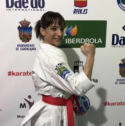 Sandra Sánchez lidera el ranking de kata para los JJOO de Tokyo 2020