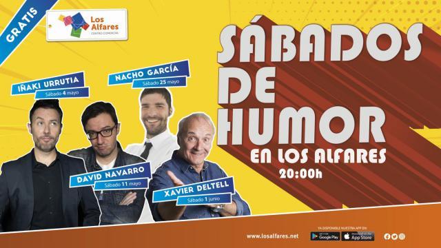 Sábados de Humor en Los Alfares con los mejores monologuistas de la tele