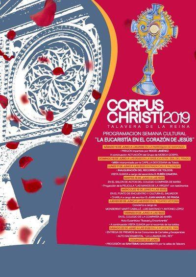 Todo el programa de la Semana Cultural del Corpus en Talavera