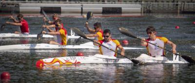 Cubelos y Peña, sextos en los Juegos Europeos