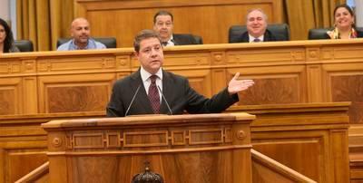 García-Page pide apoyo a PP y Podemos para rechazar el trasvase